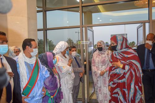 منت الداه تشرف على النسخة الأولى من مهرجان المرأة الموريتانية الكبير