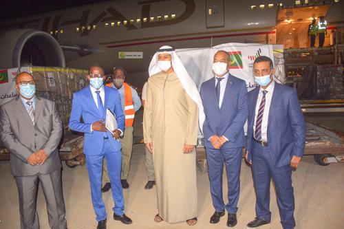 الامارات العربية المتحدة تمنح موريتانييا 10 آلاف جرعة من لقاح كورونا