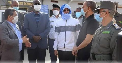 وزيرا الداخلية والدفاع الوطني في زيارة اطمأنان على أمن نواكشوط