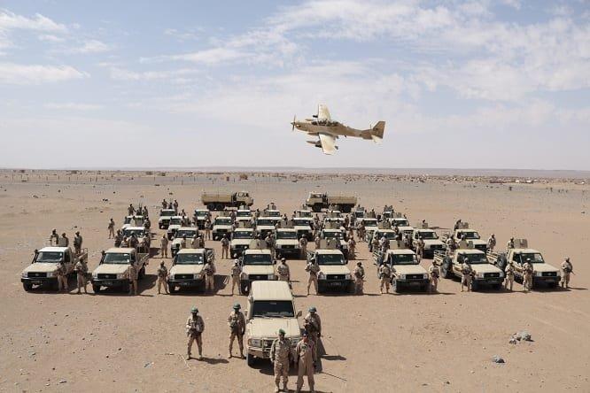 تدريبات عسكرية في تونس بمشاركة موريتانية