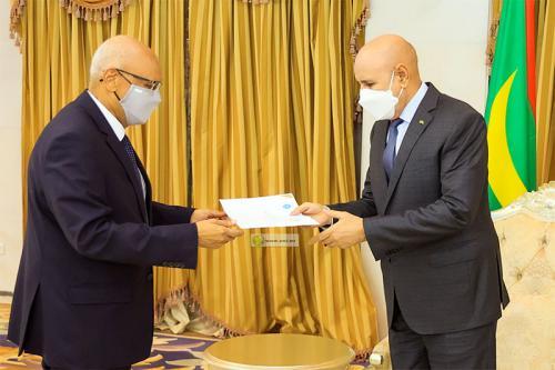 الرئيس الموريتاني يستقبل مبعوثا خاصا من رئيس المجلس الانتقالي المالي