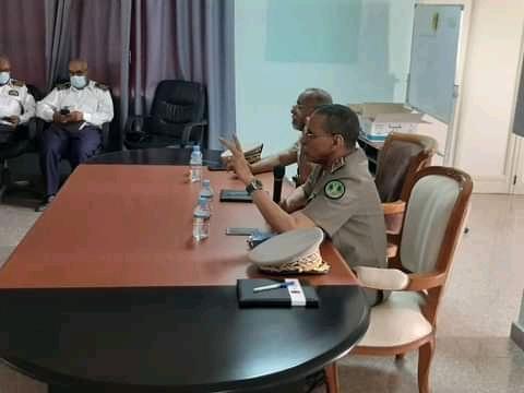 المدير العام للأمن الوطني يجتمع بالمدراء الجهويين للأمن واعوانهم بنواكشوط