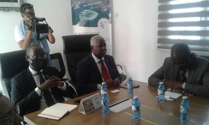 الأمين العام لسلطة المنطقة الحرة بنواذيبو يستقبل وفدا من صندوق الأمم المتحدة للتنمية