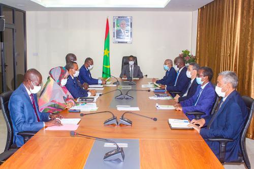 اجتماع اللجنة الوزارية المكلفة بمتابعة جائحة كورونا