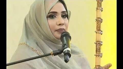 تعيين فنانة موريتانية سفيرة نوايا حسنة في مجال التنوع البيئي