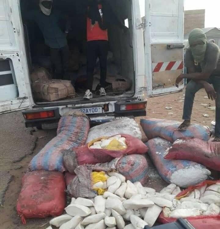 الدرك الوطني يحبط عملية تهريب خمور ومواد مصر كانت في طريقها إلى نواكشوط