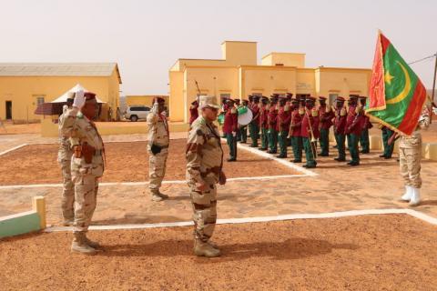 تخرج دفعة من الجنود من المركز الوطني لتدريب المغاوير بأنبيكه