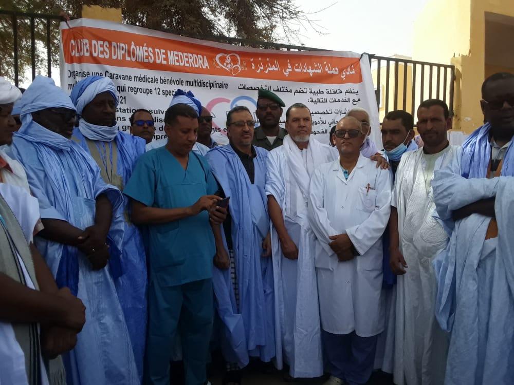 أساتذة في الطب ودكاترة من أبناء المذرذرة ينظمون قافلة صحية لصالح سكان المقاطعة