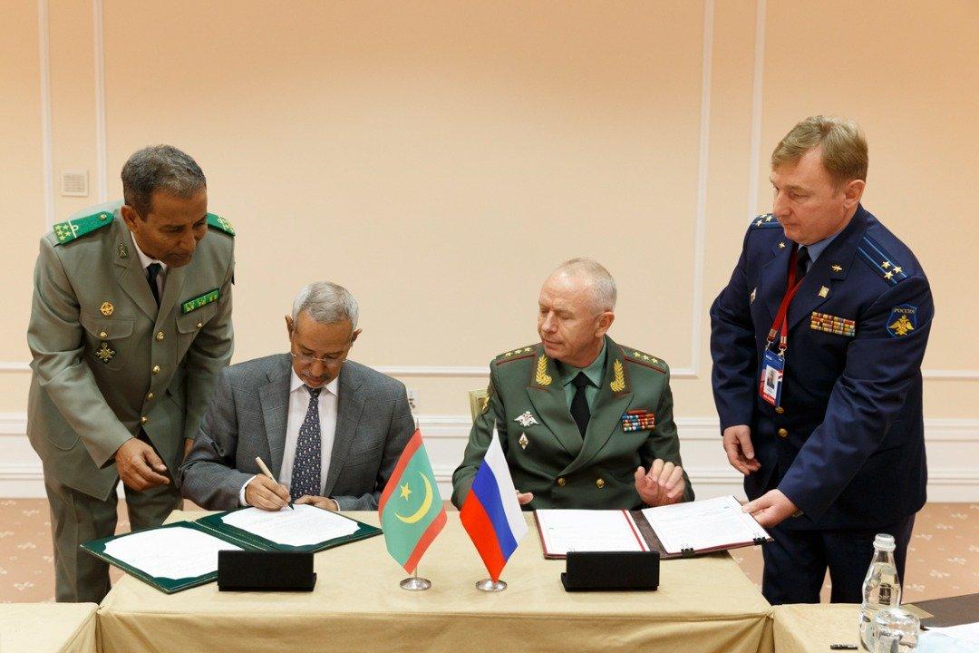 توقيع اتفاقية تعاون في المجال العسكري بين موريتانييا وجمهورية روسيا