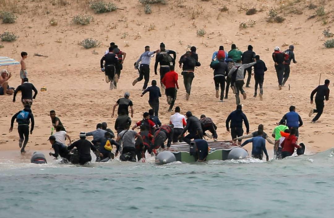 توقيف مهاجرين أجانب قرب شواطئ نواذيبو