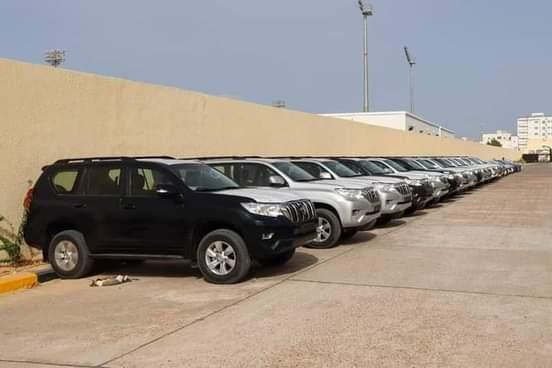الأمن الوطني يوزع سيارات جديدة على المدراء والمدراء الجهويين للأمن