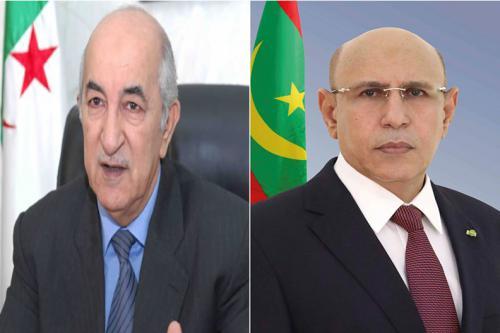 ولد الغزواني يعزي الشعب الجزائري في ضحايا الحرائق التي تجتاح البلاد