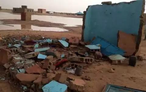 حالة وفاة وخسائر مادية بسبب الامطار
