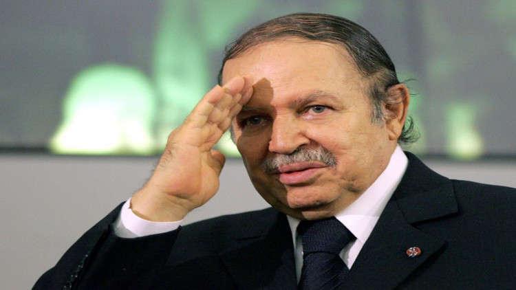 رحيل الرئيس الجزائري السابق..