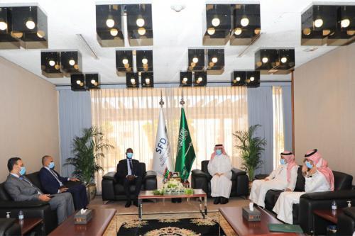 موريتانيا تبحث مع الصندوق السعودي للتنمية سبل تمويل مشاريع مهمة