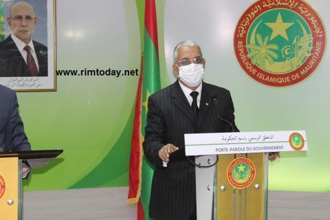 الناطق باسم الحكومة ينفي سقوط أي طائرة موريتانية