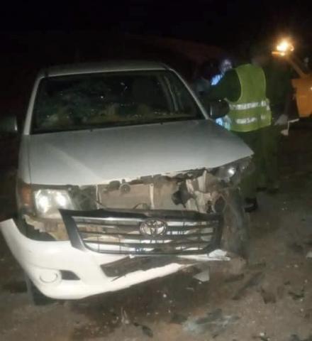 حالة وفاة وعدد إصابات جراء حادث وقع قرية تيفريت قرب نواكشوط